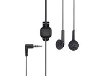 Handsfree Casti EarBud Nokia WH-101 / HS-105, Cu microfon, 2.5 mm, Negru, Bulk