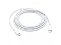 Cablu Date si Incarcare USB Type-C la USB Type-C Apple MUF7RF, 1 m, Alb, Bulk