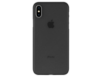 Husa Plastic Goospery Mercury Ultra Skin pentru Apple iPhone X / Apple iPhone XS, Neagra, Blister