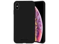 Husa TPU Goospery Mercury Silicone pentru Apple iPhone 11 Pro, Neagra, Blister
