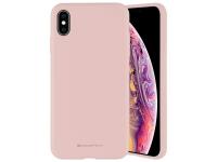 Husa TPU Goospery Mercury Silicone pentru Apple iPhone 11 Pro Max, Bej, Blister