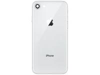 Capac Baterie cu rama mijloc si geam camera spate Argintiu Apple iPhone 8