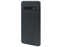 Husa Fibra Carbon Nevox Magnet Series pentru Samsung Galaxy S10+ G975, Neagra, Blister CS-1684