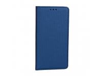 Husa Piele OEM Smart Magnet pentru Xiaomi Redmi Note 8 Pro, Bleumarin, Bulk
