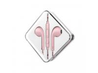 Handsfree Casti EarBuds HOCO M55 Memory Sound, Cu microfon, 3.5 mm, Roz, Blister