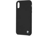 Husa TPU BMW pentru Apple iPhone XR, Neagra, Blister BMHCI61SILBK