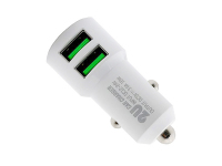 Incarcator Auto cu cablu Lightning Ldnio C309, 3.6A, 2 X USB, Alb, Blister