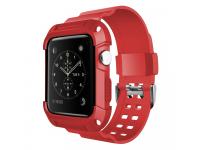 Husa TPU OEM Tough Apple Watch Series 3 38 mm, Rosie, Blister