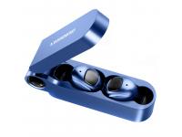 Handsfree Casti Bluetooth Fineblue F MAX TWS, SinglePoint, Albastru, Blister