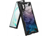 Husa Plastic - TPU Ringke Fusion X Design pentru Samsung Galaxy Note 10+ N975 / Note 10+ 5G N976, Neagra, Blister XDSG0020