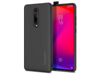Husa TPU Spigen Fit pentru Xiaomi Mi 9T / Xiaomi Mi 9T Pro, Neagra, Blister
