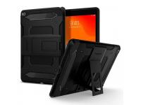 Husa Tableta Plastic Spigen Tough Armor Tech pentru Apple iPad 10.2, Neagra, Blister