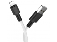 Cablu Date si Incarcare USB la Lightning HOCO Superior X29, 1 m, Alb, Blister