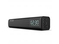 Boxa HXSJ  Q2 Bluetooth 5.0, Radio FM/ Alarma ceas/ TF Card / AUX / USB, Neagra, Blister
