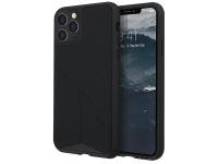 Husa TPU - Textil UNIQ Transforma Rigor Apple iPhone 11 Pro Max, Neagra, Blister