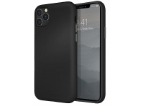 Husa TPU UNIQ Lino Apple iPhone 11 Pro Max, Neagra, Blister