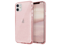 Husa Plastic - TPU UNIQ Lifepro Tinsel Apple iPhone 11, Roz, Blister
