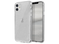 Husa Plastic - TPU UNIQ Lifepro Tinsel Apple iPhone 11, Transparenta, Blister