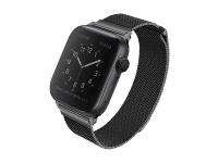 Curea UNIQ Dante Apple Watch Series 3 / 4 / 5 (42/44mm), Neagra, Blister