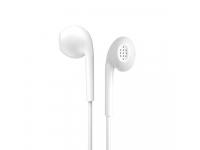 Handsfree Casti EarBuds WK-Design Y12, Cu microfon, 3.5 mm, Alb, Blister