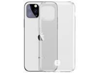 Husa TPU Baseus Ultra-Thin pentru Apple iPhone 11 Pro Max, Cu suport pentru snur, Transparenta, Blister WIAPIPH65S-QA02