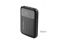 Baterie Externa Powerbank Borofone BT21 10000 mA, 2 x USB, Neagra, Blister