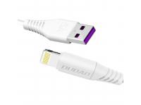 Cablu Date si Incarcare USB la Lightning Dudao L2L, 5A, 1 m, Alb, Blister