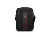 Geanta textil Ferrari Urban Collection, 8 inci, Negru FEURSH8BK