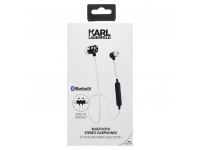 Handsfree Casti In-Ear Bluetooth Karl Lagerfeld, Alb, Blister  CGBTE07