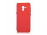 Husa TPU OEM Pure Silicone pentru Samsung Galaxy A20e, Rosie, Bulk