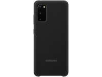 Husa TPU Samsung Galaxy S20, Neagra, Blister EF-PG980TBEGEU