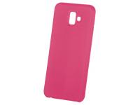 Husa TPU OEM Pure Silicone pentru Samsung Galaxy A20s, Ciclam, Blister