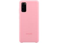 Husa TPU Samsung Galaxy S20, Roz, Blister EF-PG980TPEGEU