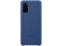 Husa TPU Samsung Galaxy S20, Bleumarin, Blister EF-PG980TNEGEU