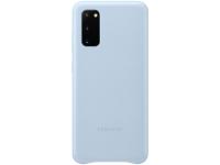 Husa Piele Samsung Galaxy S20 G980 / Samsung Galaxy S20 5G G981, Leather Cover, Albastra EF-VG980LLEGEU