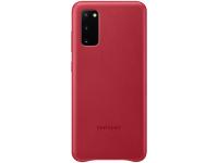 Husa Piele Samsung Galaxy S20 G980 / Samsung Galaxy S20 5G G981, Leather Cover, Rosie EF-VG980LREGEU
