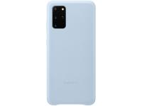 Husa Piele Samsung Galaxy S20 Plus G985 / Samsung Galaxy S20 Plus 5G G986, Leather Cover, Albastra EF-VG985LLEGEU