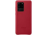 Husa Piele Samsung Galaxy S20 Ultra G988 / Samsung Galaxy S20 Ultra 5G G988, Leather Cover, Rosie EF-VG988LREGEU