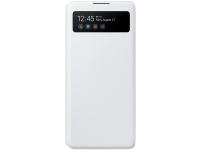 Husa TPU Samsung Galaxy S10 Lite, S View Wallet, Alba, Blister EF-EG770PWEGEU