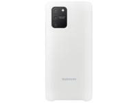 Husa TPU Samsung Galaxy S10 Lite, Alba, Blister EF-PG770TWEGEU