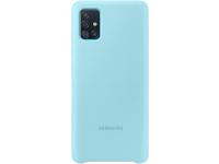 Husa TPU Samsung Galaxy A71, Bleu, Blister EF-PA715TLEGEU