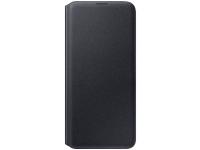 Husa Samsung Galaxy A30s, Wallet Cover, Neagra, Blister EF-WA307PBEGWW