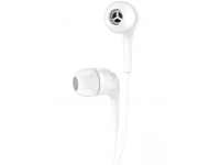 Handsfree Casti In-Ear HOCO Drumbeat M40, Cu microfon, 3.5 mm, Alb, Blister