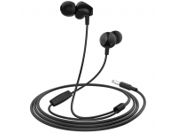 Handsfree Casti In-Ear HOCO M60 Perfect sound, Cu microfon, 3.5 mm, Negru, Blister
