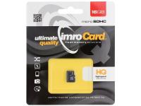 Card Memorie MicroSDHC Imro, 16Gb, Clasa 6, Blister MicroSD4/16G