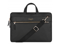 Geanta textil laptop 13.3 inci, Cartinoe London Style, Neagra