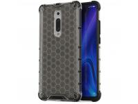 Husa Plastic - TPU OEM Honeycomb Armor pentru Xiaomi Mi 9T / Xiaomi Mi 9T PRO, Neagra, Bulk