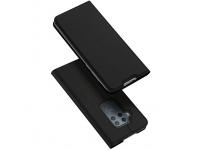 Husa Piele DUX DUCIS Skin Pro pentru Motorola One Zoom, Neagra, Blister