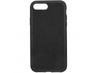 Husa Biodegradabila Forever Bioio pentru Apple iPhone 7 Plus / Apple iPhone 8 Plus, Neagra, Blister