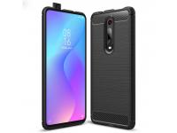 Husa TPU TECH-PROTECT Carbon pentru Xiaomi Mi 9T / Xiaomi Mi 9T Pro, Neagra, Blister
